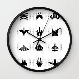 Naves Wall Clock