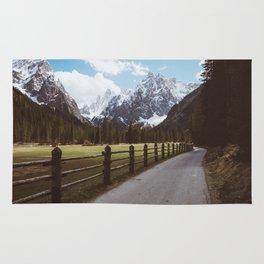 Let's hike together - Landscape and Nature Photography Rug
