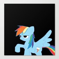 pony Canvas Prints featuring pony by Dore