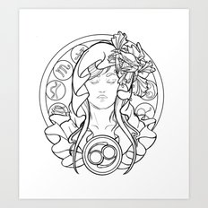 Zodiac Series | Cancer Art Print
