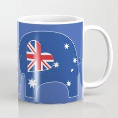 U.S.-Australia Friendship Elephants Mug