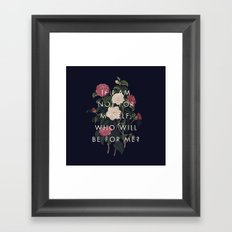 The Theory of Self-Actualization I Framed Art Print
