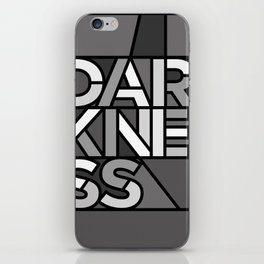 Darkness - Stained Glass iPhone Skin