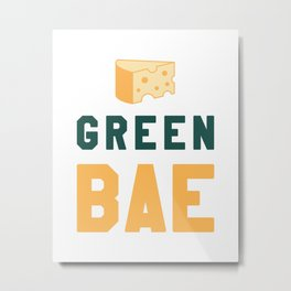 Green Bae | GB Packers Metal Print
