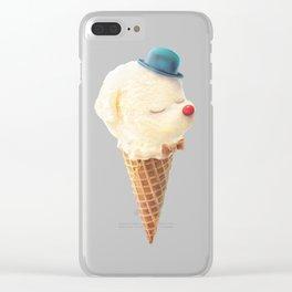 Vanilla Bichon Clear iPhone Case