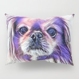 Peak in purple Pillow Sham