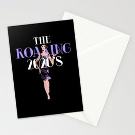 Roaring 20's Costume 2020 Roaring Stationery Cards