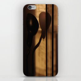 late afternoon snakelamp h2 iPhone Skin