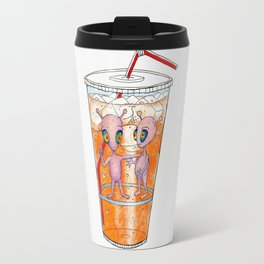 Orange Soda Invasion Travel Mug