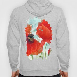 Poppies 02 Hoody