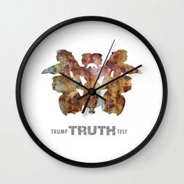 Believe Me: Trump Truth Test. Wall Clock