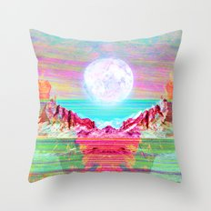 Moon's Cradle Throw Pillow