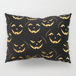 Scary jack-o-lantern Pillow Sham