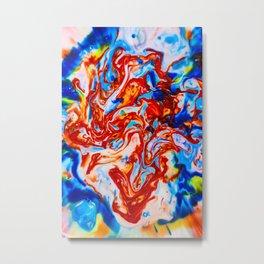 Milkblot No. 10 Metal Print