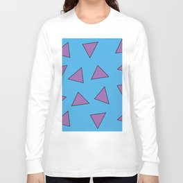 Rocko's Triangles Long Sleeve T-shirt