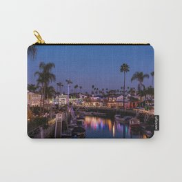 Wallpaper California USA Christmas Long Beach Cana Carry-All Pouch