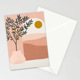 lemon tree Stationery Cards
