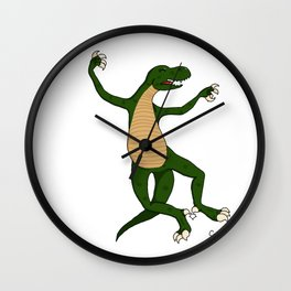 The usual dino Wall Clock