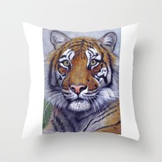 Tiger  CC118 bis Throw Pillow