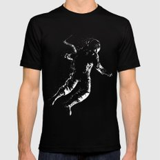 float Black X-LARGE Mens Fitted Tee