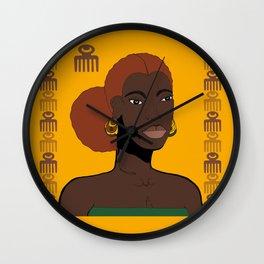 Goddess, Sister, Queen Wall Clock