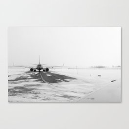 Aeroplane Crossing Canvas Print