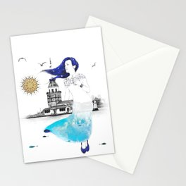 Median Tower Stationery Cards