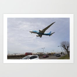 China Southern Boeing 787 Art Print