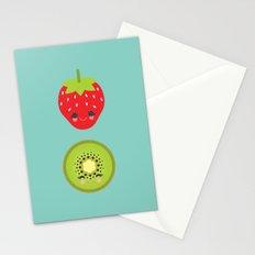 Strawberry Kiwi Stationery Cards
