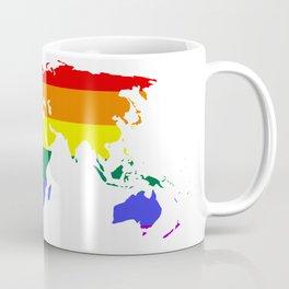LGBT World (Gay Pride Flag) Coffee Mug