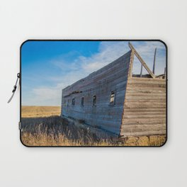 Roofless Barn, Backroads Farmstead, Valley County, MT Laptop Sleeve