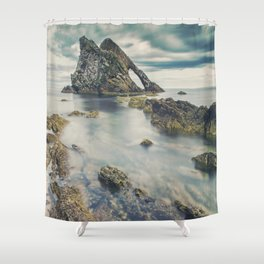 Bow Fiddle Rock Shower Curtain