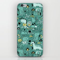 Communication Dinosaurs iPhone & iPod Skin
