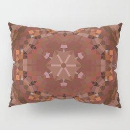 Hardwood Hill Brown Kaleidoscope Pillow Sham