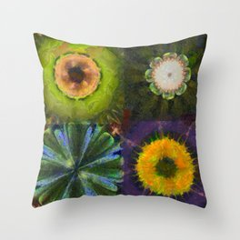 Counterhypothesis Harmony Flowers  ID:16165-102147-41840 Throw Pillow