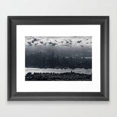 Cloud City Framed Art Print