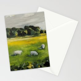 Irish Sheep Stationery Cards