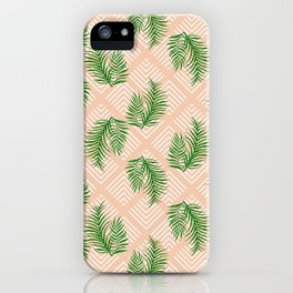 Geometries & Palms #society6 #decor #buyart iPhone Case