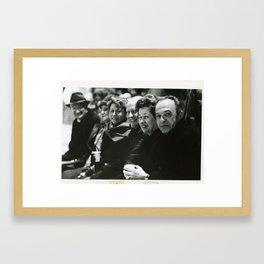 BOPARC Ice Show Co-Sponsors Framed Art Print
