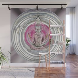 Love Meditation Bubble Wall Mural