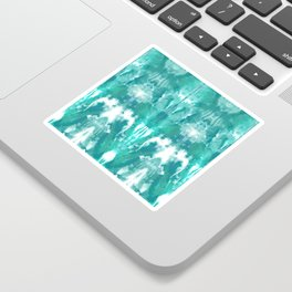 Aqua Blue Lagoon Sticker