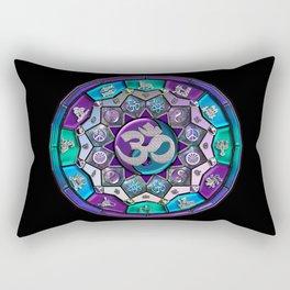 UROCK! Independence Mandala Rectangular Pillow