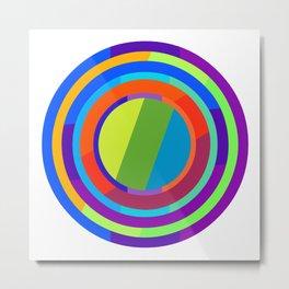 Circles of Swing (4) Metal Print