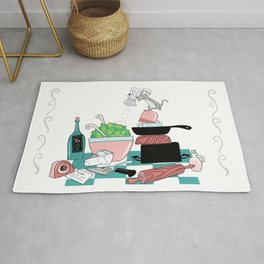The Hungry Mouse Rug