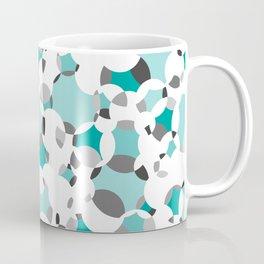 Circle-fiesta bluegreen-white Coffee Mug