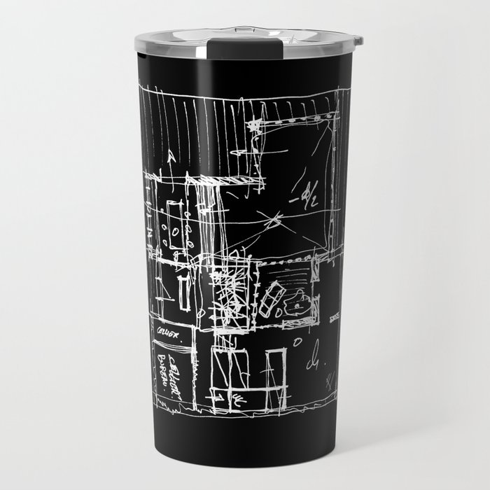 Doing my architecture job Travel Mug