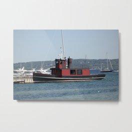 Historic Ottawa Tug boat Metal Print