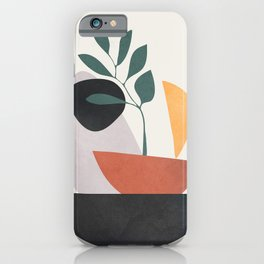 Abstract Shapes No.23 iPhone Case