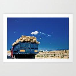Truck of Romania Art Print