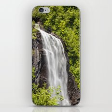 ok slip falls iPhone & iPod Skin